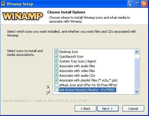 Configurar winamp 1