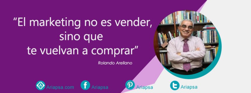 """El marketing no es vender, sino que te vuelvan a comprar"""