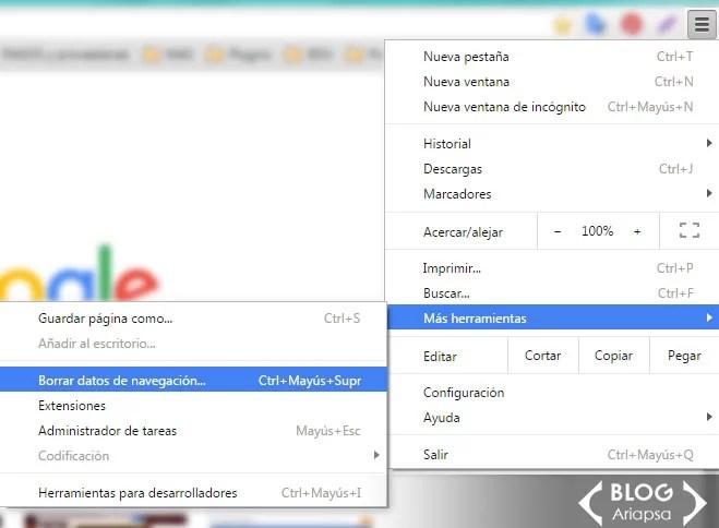 2-como-borrar-datos-de-navegacion-desde-google-chrome-ariaspa