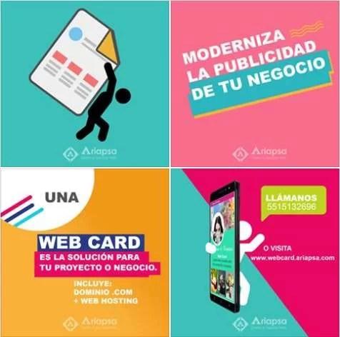 Web Card una nueva modalidad de micrositios web en mexico