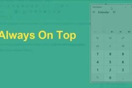 Always on top mantén una ventana en windows o programa siempre visible