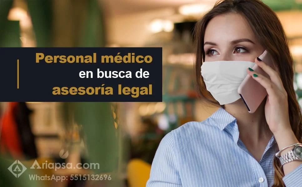 Personal en busca de asesoria legal