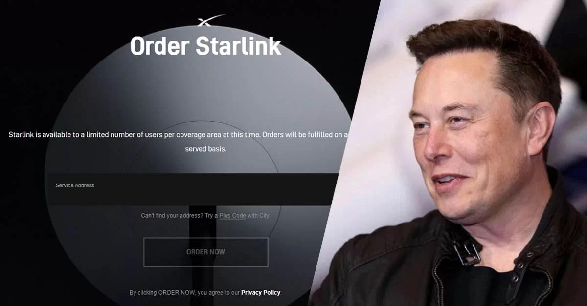 A 1 internet de Elon Musk