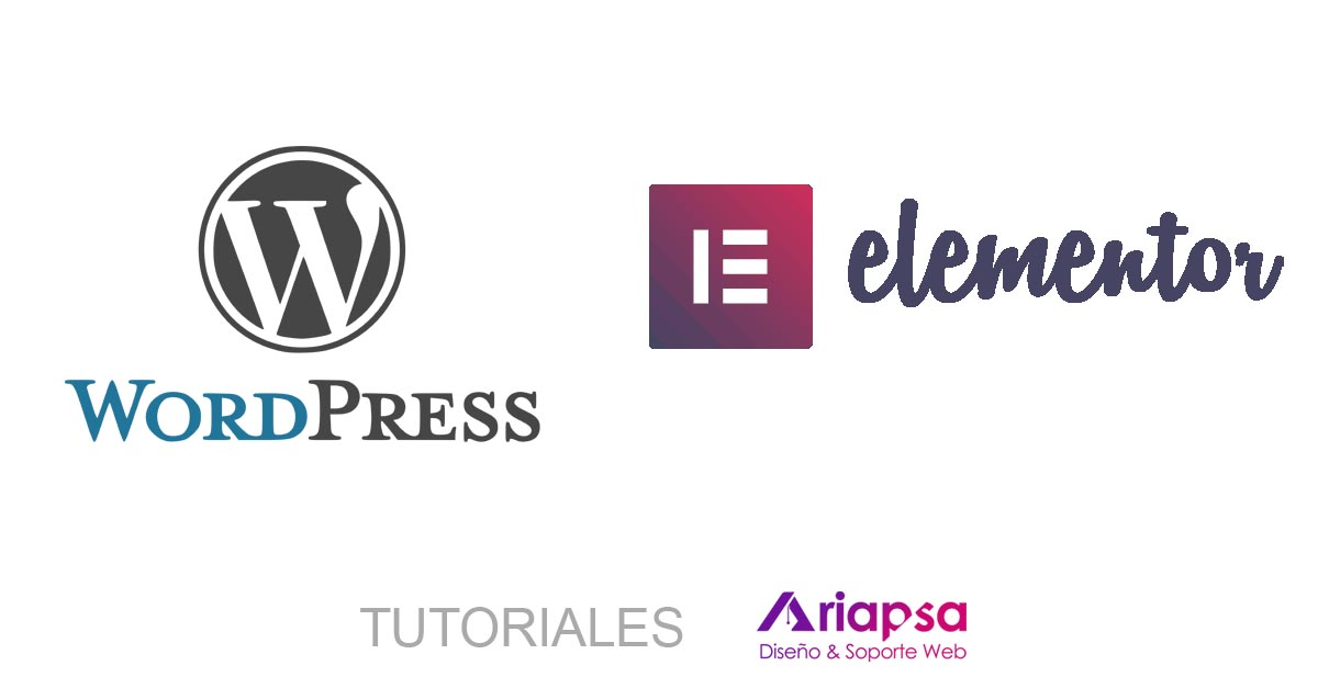 wordpress y elementor tutoriales