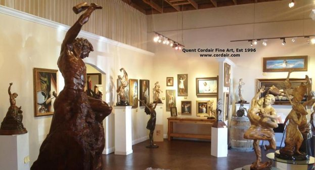 Nix Government Arts Funding, Says Artist and Gallery Owner Quent Cordair