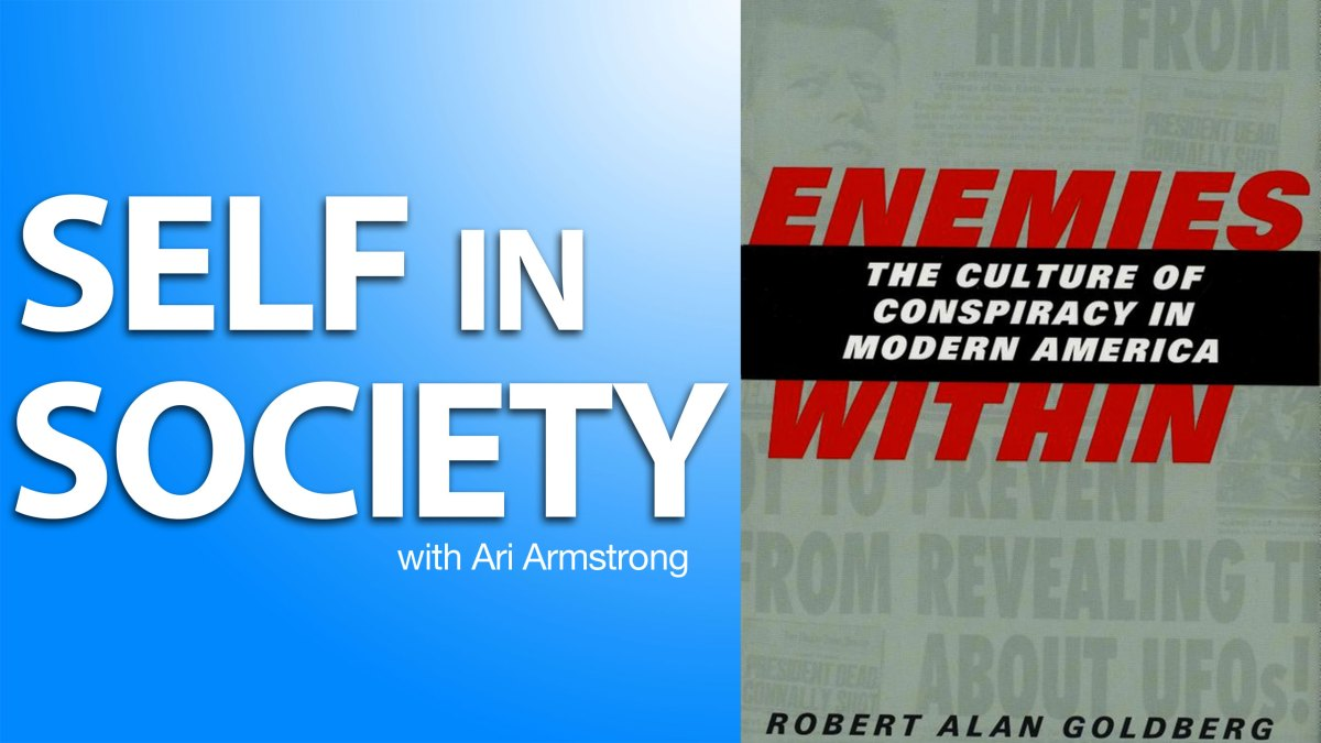 Robert Alan Goldberg on American Conspiracy Theories
