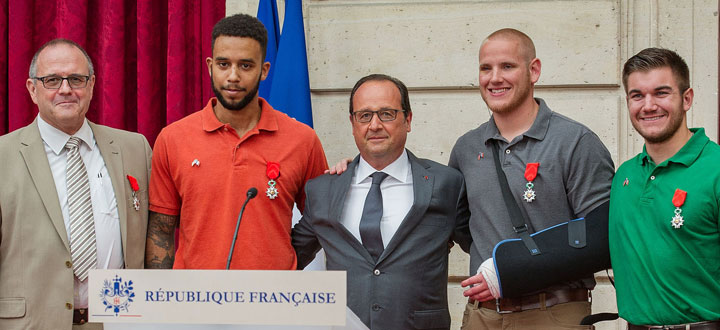 Heroes of the Paris Train Attack