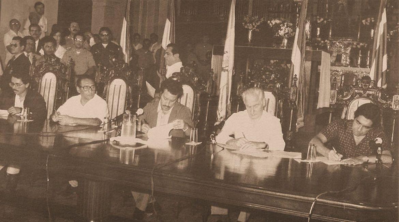 A 30 años de la firma del Plan de Paz