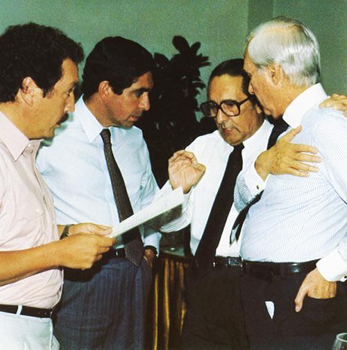 Presentación del Plan Arias para la Paz