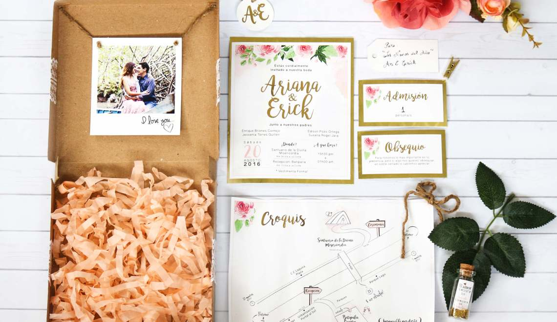Arick Wedding – Invitación de Bodas