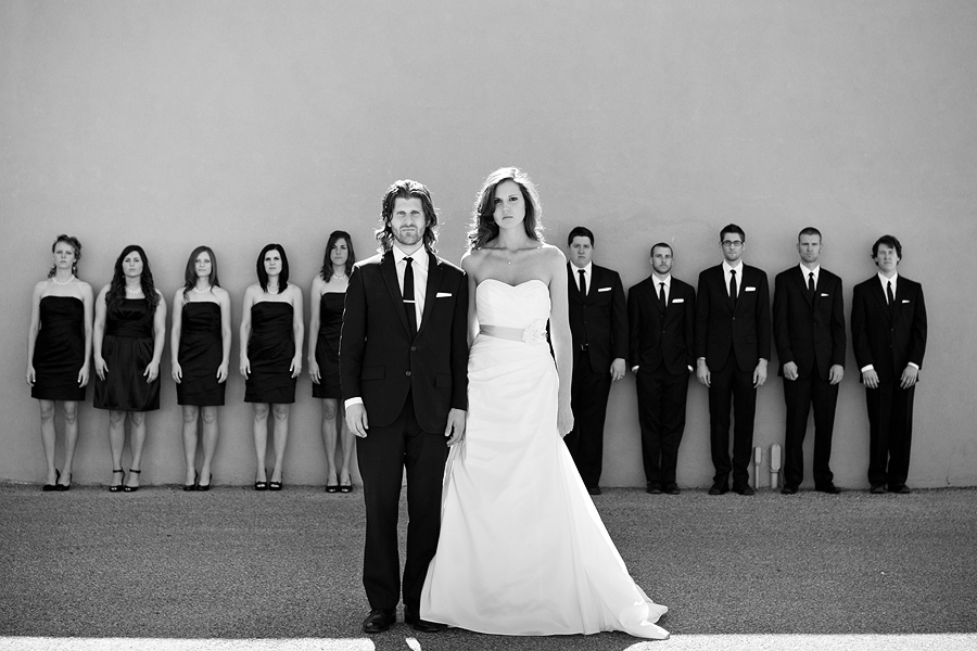 Black and White Modern Wedding Details images