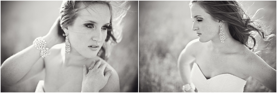 lubbock bridal photographer black and white bridals