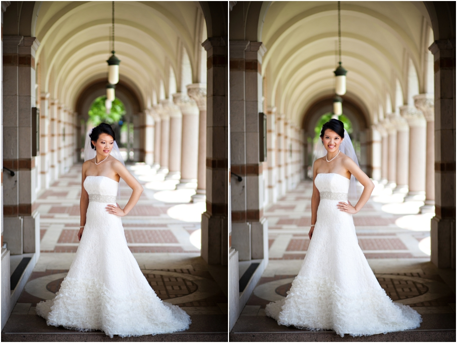 Winnie Couture Wedding gown at Rice University