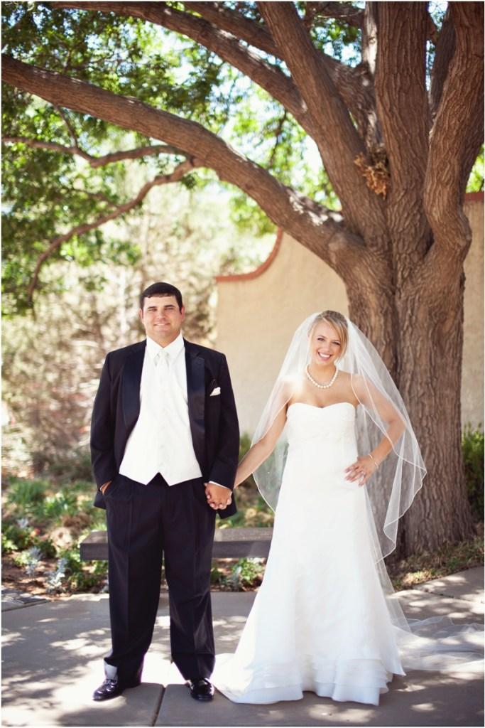 Wedding photos at Merket Alumni Center at Texas Tech