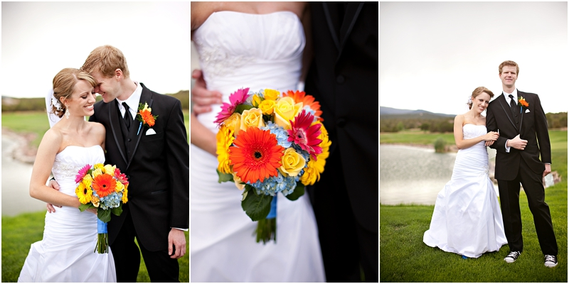 Albuquerque golf course wedding