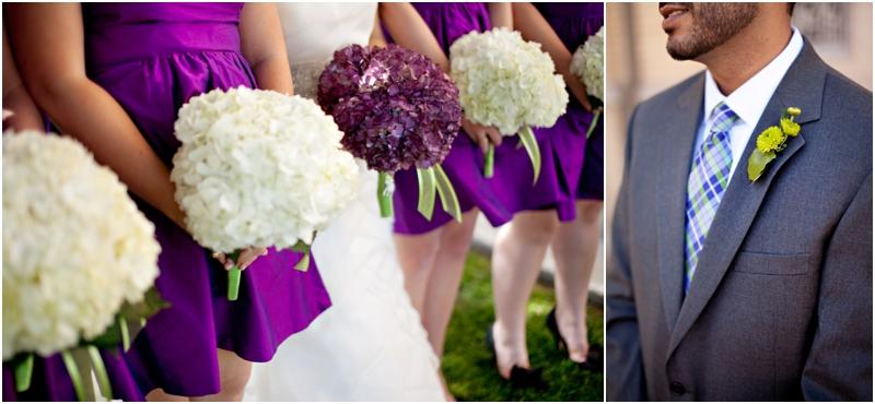 purple and green wedding details muleshoe texas