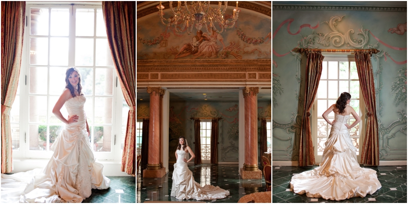 Adolphus Hotel French Room Bridal Pictures