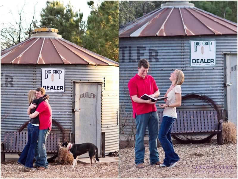 Lubbock proposal photographer