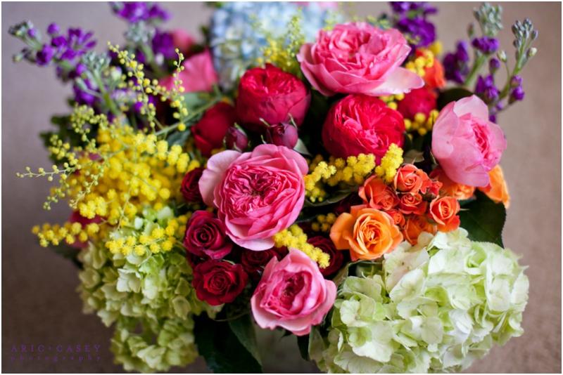 college flowers valentine's arrangement