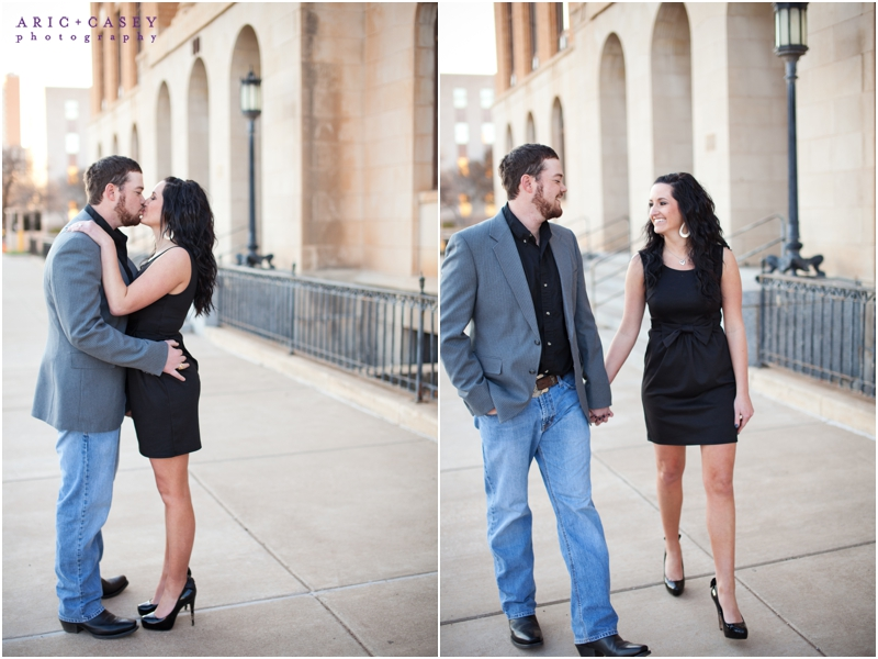 classy attire for engagement session