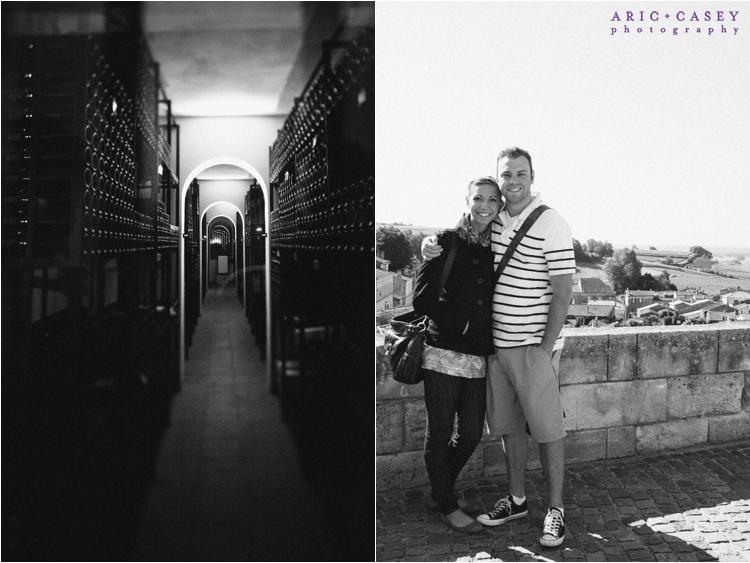 traveling in wine region france