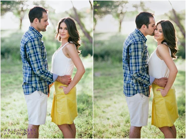 beautiful lubbock engagement photography