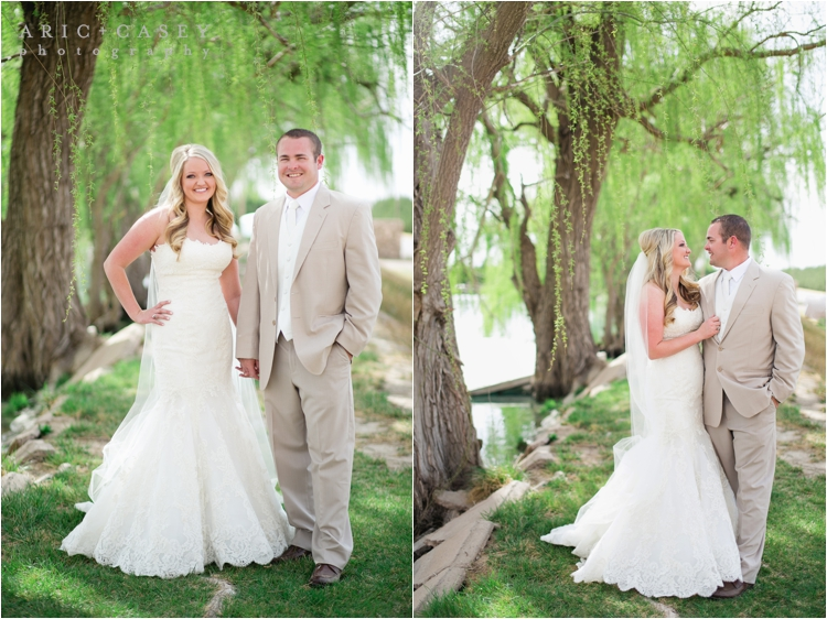 beautiful outdoor wedding portraits for lubbock texas