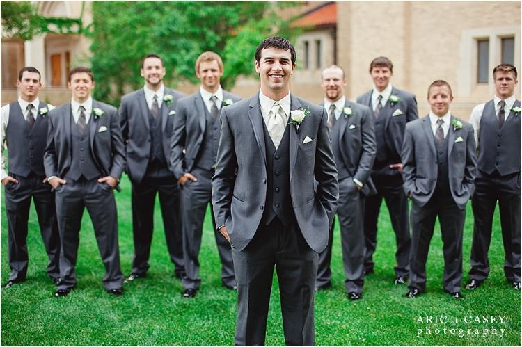 Groomsmen lubbock wedding photo