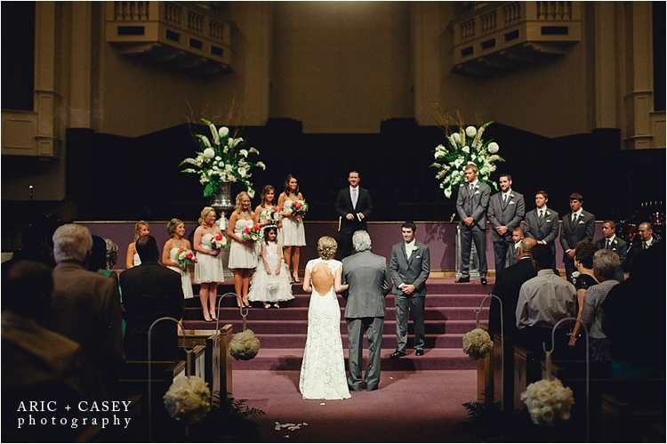 Lubbock wedding photographer First Baptist Church