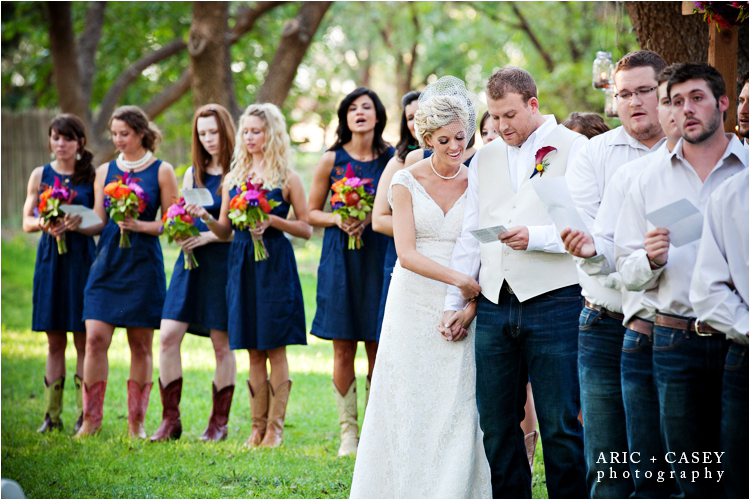 Wedding Ceremony at Fulford Barn