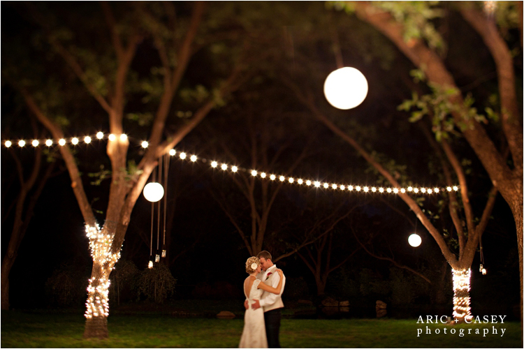 reception lighting at fulford barn in brownfield texas