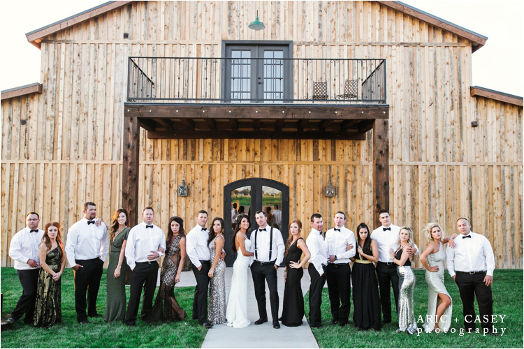 Eberly Brooks Events wedding bridal party portraits