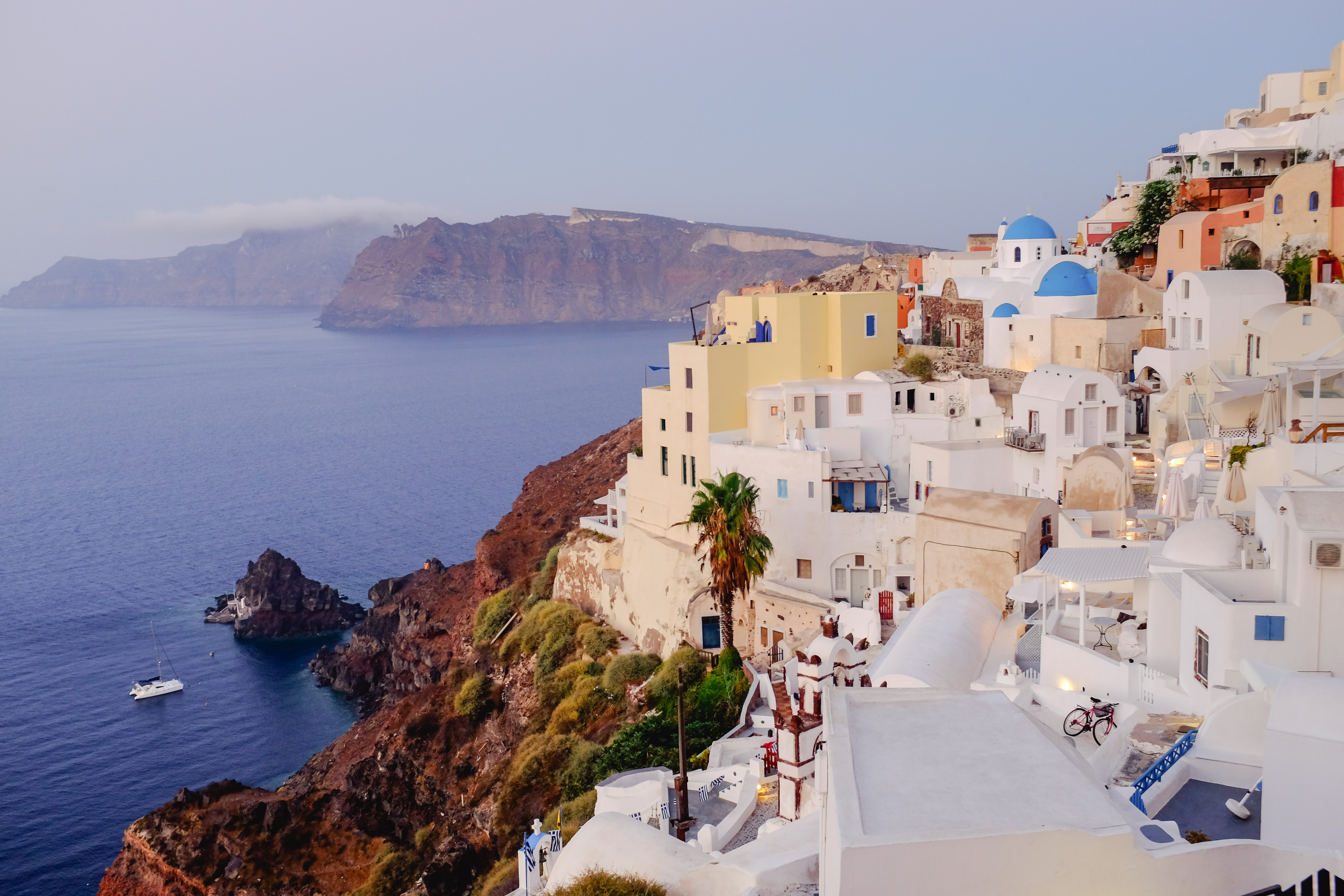 Santorini greece by aric + casey photography