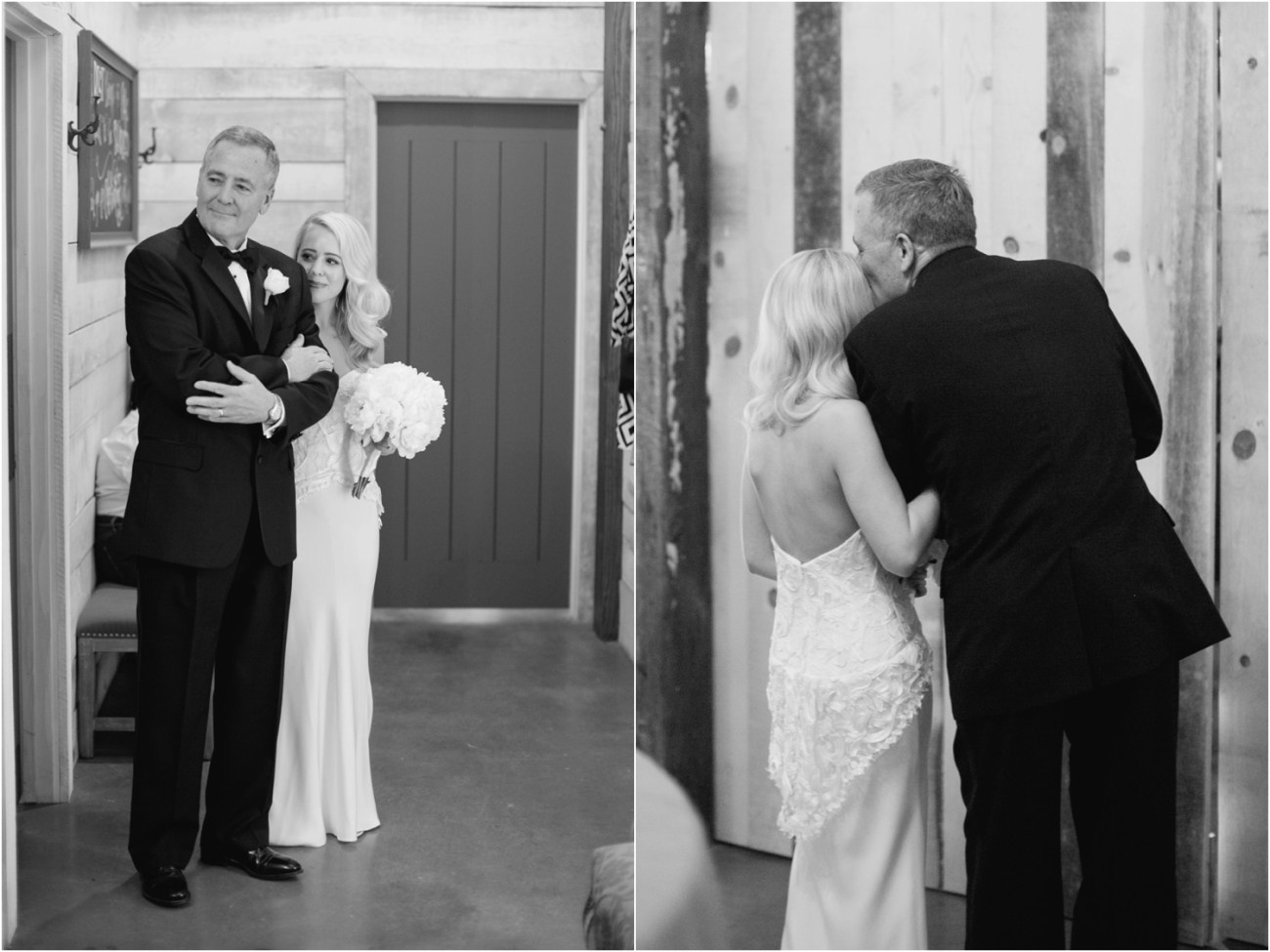 bride and her father moments