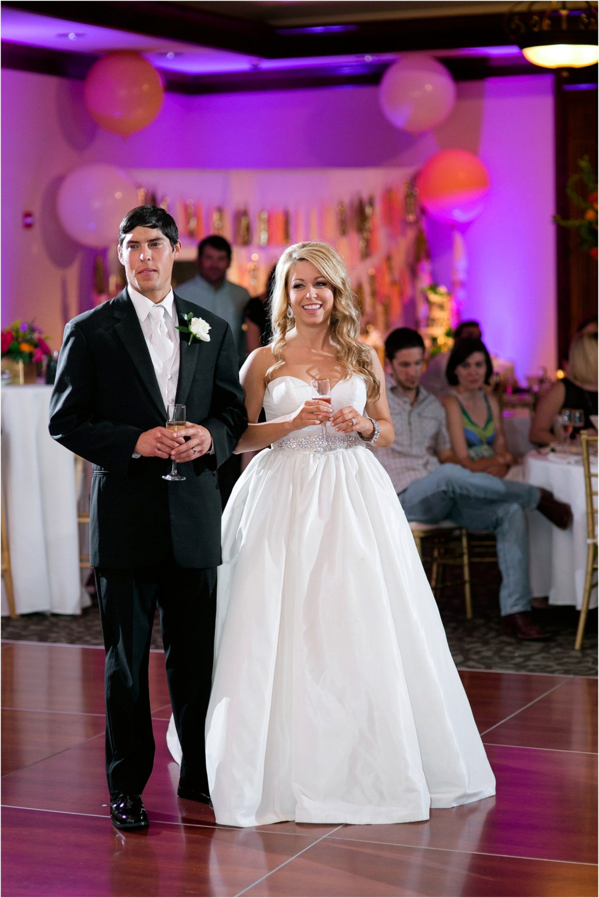 merket alumni center wedding