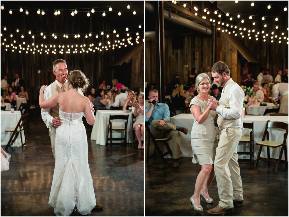 cotton creek barn wedding reception