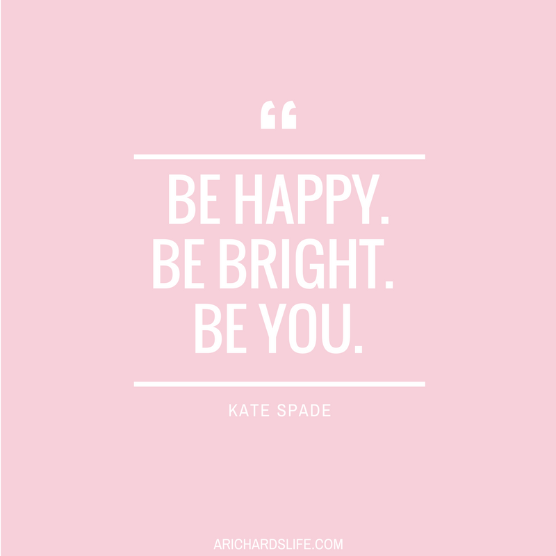 Amazing Friend, Kate Spade Has A Little Pep Talk For You.