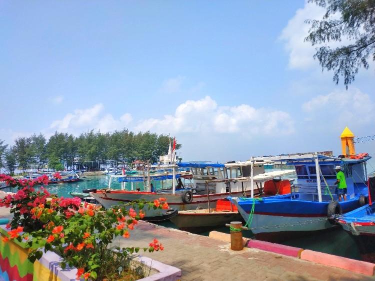 Dermaga Pulau Pramuka Ariefpokto