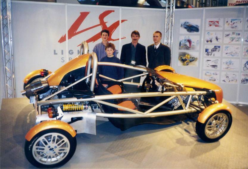 Early Ariel Atom prototype (1996)