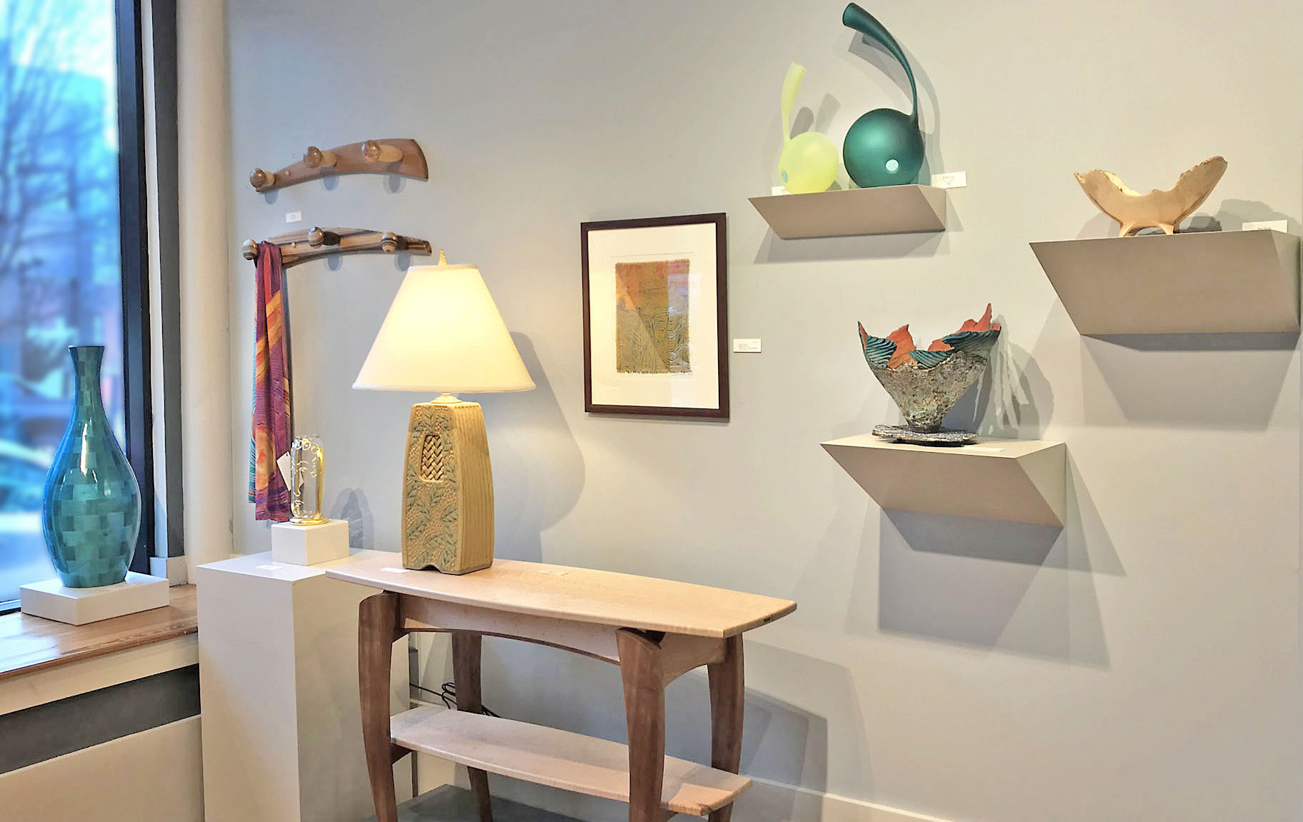 Ariel Gallery, an Asheville art gallery focusing on fine craft