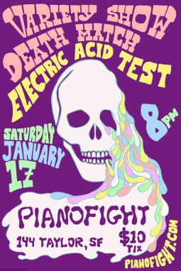 Variety Show Death Match: Electric Acid Test