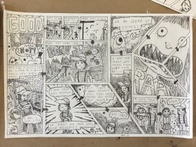 Ben's Autobiographical Comic