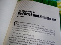 The Rise and Fall of Red Brick and Humble Pie by GT Lines