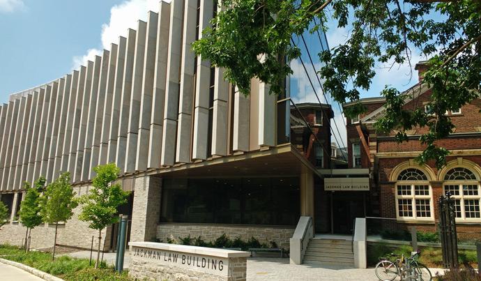 UofT Jackman Law Building