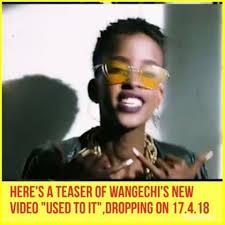 Wangechi Waweru -- she raps, smiles, and checks me in.