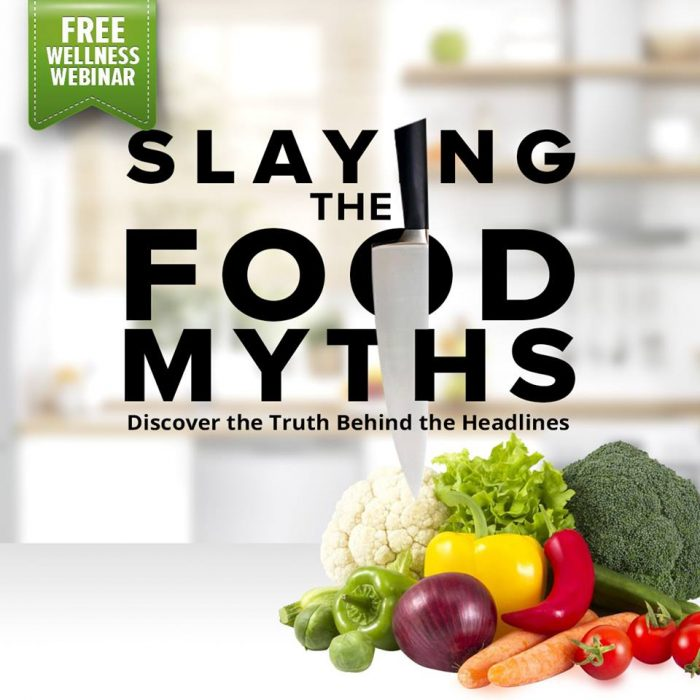 FREE WELLNESS WEBINAR | SLAYING THE SUPPLEMENT MYTHS