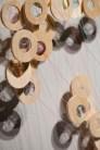 """Waypoint Bronze, string, Baltic birch 24"""" × 36"""" × 12"""""""
