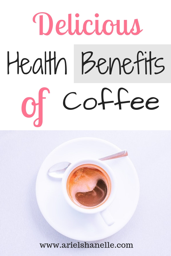 Health benefits of coffee pinterest pin