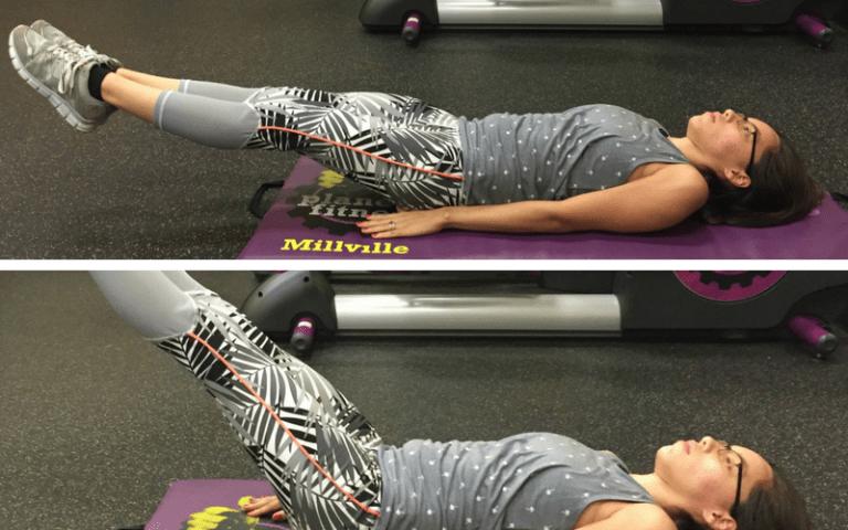 leg raises exercise