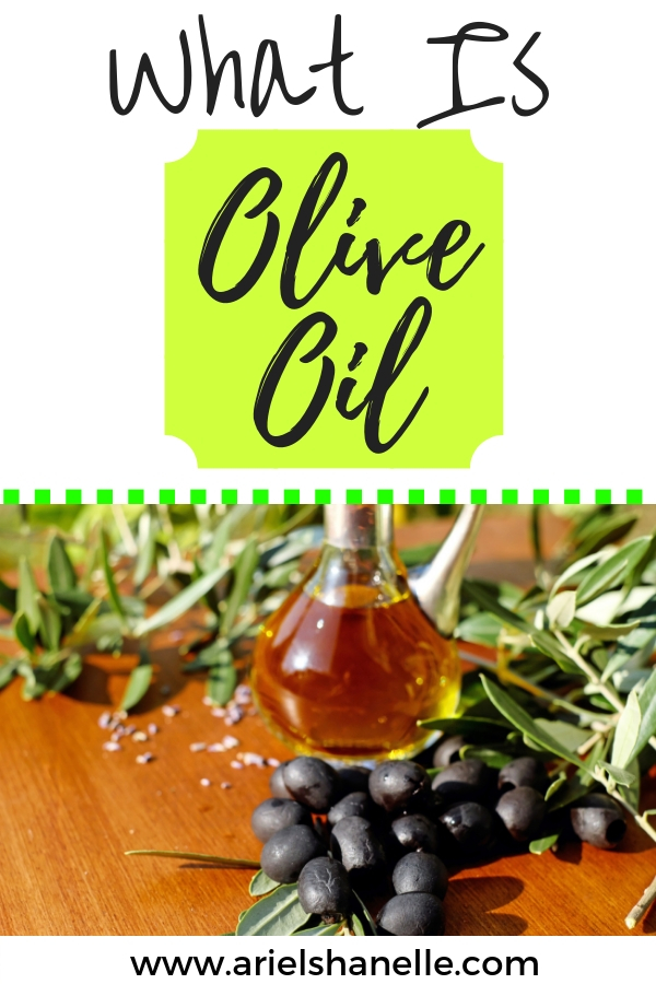 Olive oil is the fruit juice of olives!